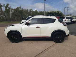 2016 Nissan Juke F15 Series 2 Ti-S X-tronic AWD White 1 Speed Constant Variable Hatchback