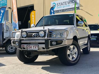 2005 Toyota Landcruiser HDJ100R GXL (4x4) White 5 Speed Automatic Wagon.