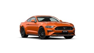 2020 Ford Mustang FN 2020MY GT Twister Orange 10 Speed Sports Automatic Fastback.