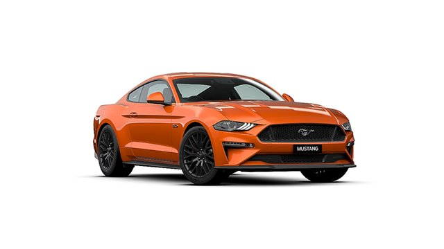 New Ford Mustang FN 2020MY GT Cardiff, 2020 Ford Mustang FN 2020MY GT Twister Orange 10 Speed Sports Automatic Fastback