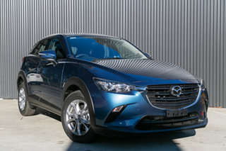 2019 Mazda CX-3 DK2W7A Maxx SKYACTIV-Drive FWD Sport Eternal Blue 6 Speed Sports Automatic Wagon.