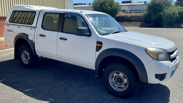 Used Ford Ranger PK XL Crew Cab, 2010 Ford Ranger PK XL Crew Cab White 5 Speed Automatic Utility