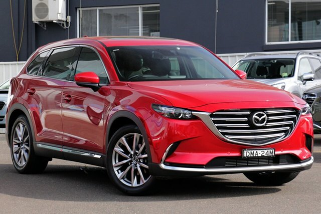 Used Mazda CX-9 TC GT SKYACTIV-Drive, 2017 Mazda CX-9 TC GT SKYACTIV-Drive Metallic Red 6 Speed Sports Automatic Wagon