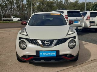2016 Nissan Juke F15 Series 2 Ti-S X-tronic AWD White 1 Speed Constant Variable Hatchback.