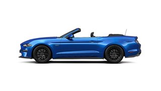 2019 Ford Mustang FN 2020MY GT SelectShift RWD Velocity Blue 10 Speed Sports Automatic Convertible.