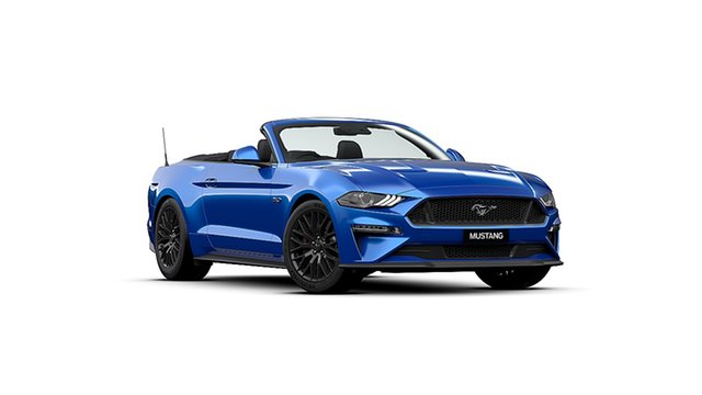 New Ford Mustang FN 2020MY GT, 2019 Ford Mustang FN 2020MY GT Velocity Blue 10 Speed Sports Automatic Convertible