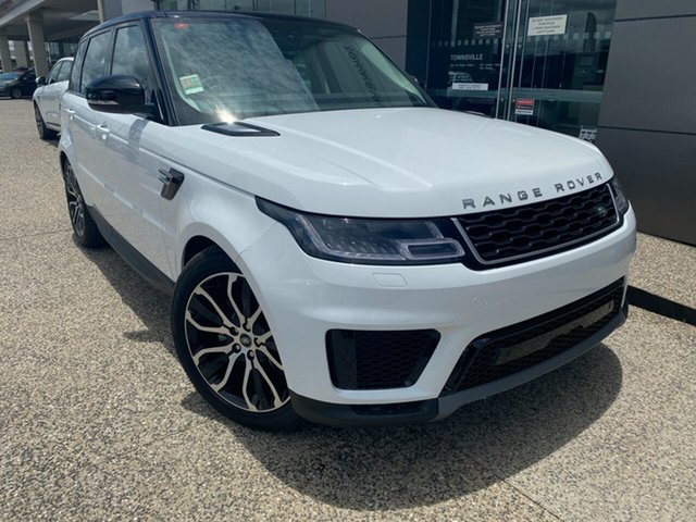 New Land Rover Range Rover Sport L494 20MY SDV6 183kW SE, 2019 Land Rover Range Rover Sport L494 20MY SDV6 183kW SE Fuji White 8 Speed Sports Automatic Wagon