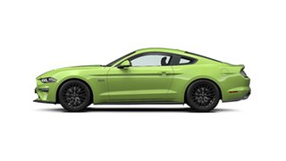 2019 Ford Mustang FN 2020MY GT Fastback SelectShift RWD Grabber Lime 10 Speed Sports Automatic.