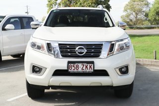 2018 Nissan Navara D23 S3 ST-X White 7 Speed Sports Automatic Utility