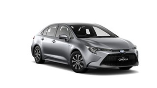 2020 Toyota Corolla ZWE211R Ascent Sport E-CVT Hybrid Silver Pearl 10 Speed Constant Variable Sedan.