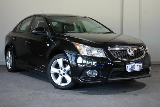 Used Holden Cruze JH Series II MY13 SRi-V, 2012 Holden Cruze JH Series II MY13 SRi-V Black 6 Speed Sports Automatic Sedan