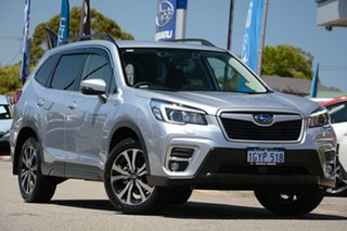 2019 Subaru Forester S5 MY20 2.5i Premium CVT AWD Ice Silver 7 Speed Constant Variable Wagon.