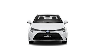 2020 Toyota Corolla ZWE211R Ascent Sport E-CVT Hybrid Glacier White 10 Speed Constant Variable Sedan