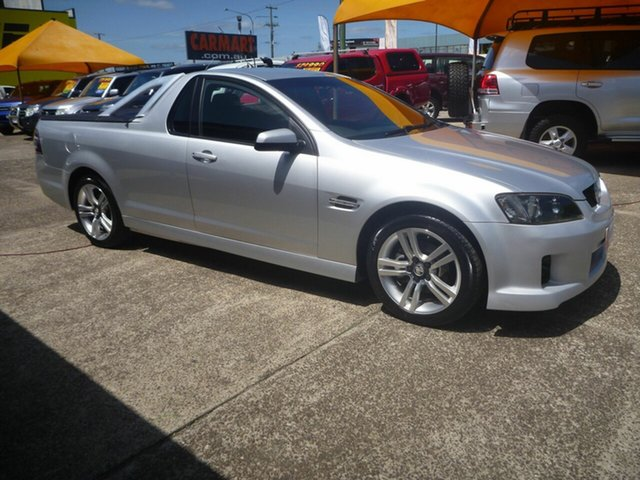 Used Holden Ute VE SV6, 2008 Holden Ute VE SV6 Silver 6 Speed Manual Utility
