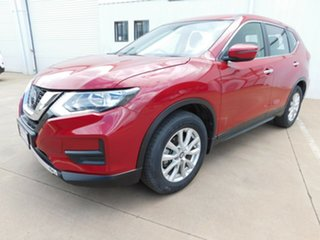 2018 Nissan X-Trail T32 Series 2 ST (4WD) Red Continuous Variable Wagon.