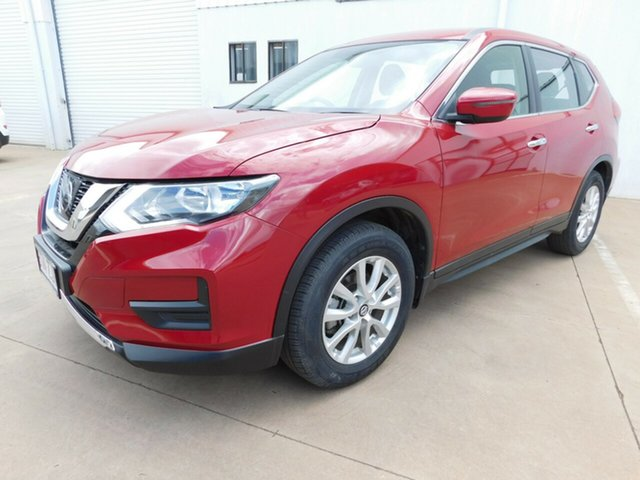 Used Nissan X-Trail T32 Series 2 ST (4WD), 2018 Nissan X-Trail T32 Series 2 ST (4WD) Red Continuous Variable Wagon