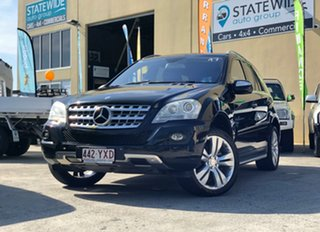 2010 Mercedes-Benz ML350 W164 09 Upgrade 4x4 Black 7 Speed Automatic G-Tronic Wagon