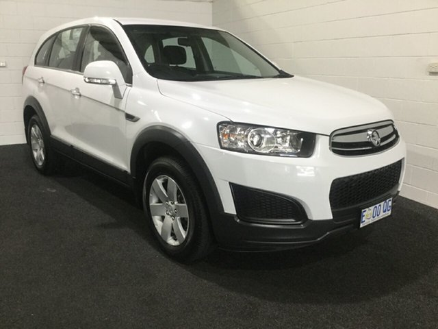 Used Holden Captiva CG MY15 7 LS, 2015 Holden Captiva CG MY15 7 LS Summit White 6 Speed Sports Automatic Wagon