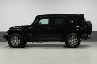 2016 Jeep Wrangler Unlimited JK MY16 Rubicon (4x4) Black 5 Speed Automatic Softtop