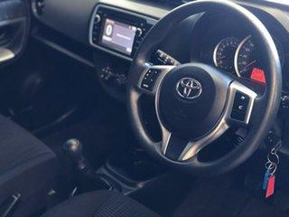 2015 Toyota Yaris NCP131R MY15 SX Blue 5 Speed Manual Hatchback.