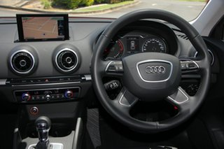 2015 Audi A3 8V MY15 Attraction Sportback S Tronic Red 7 Speed Sports Automatic Dual Clutch