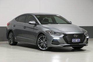 2017 Hyundai Elantra AD SR Turbo Grey 7 Speed Auto Dual Clutch Sedan.
