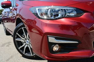 2019 Subaru Impreza G5 MY19 2.0i Premium CVT AWD Venetian Red 7 Speed Constant Variable Hatchback