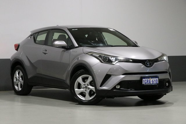 Used Toyota C-HR NGX10R Update (2WD), 2018 Toyota C-HR NGX10R Update (2WD) Silver Continuous Variable Wagon
