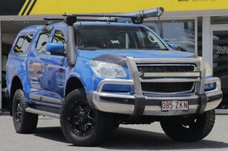 2013 Holden Colorado RG MY13 LT Crew Cab Blue 5 Speed Manual Utility