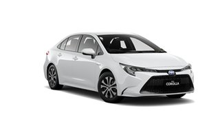 2020 Toyota Corolla ZWE211R Ascent Sport E-CVT Hybrid Glacier White 10 Speed Constant Variable Sedan.