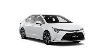 2020 Toyota Corolla ZWE211R Ascent Sport E-CVT Hybrid Glacier White 10 Speed Constant Variable Sedan.