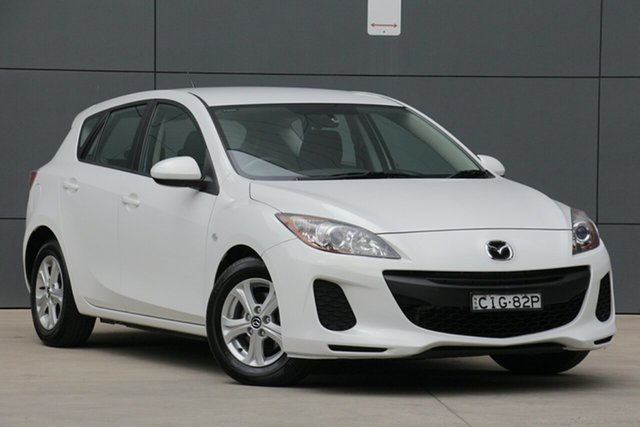 Used Mazda 3 BL10F2 Neo, 2012 Mazda 3 BL10F2 Neo White 6 Speed Manual Hatchback