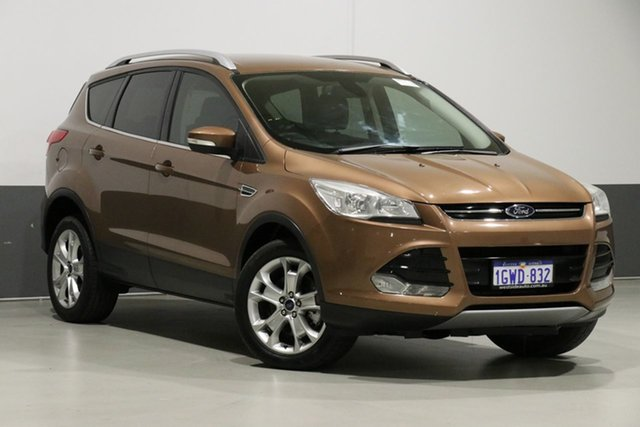 Used Ford Kuga TF Trend (AWD), 2013 Ford Kuga TF Trend (AWD) Orange 6 Speed Automatic Wagon