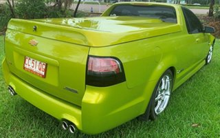 2008 Holden Ute VE SS V Green 6 Speed Manual Utility.