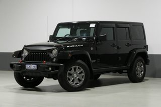 2016 Jeep Wrangler Unlimited JK MY16 Rubicon (4x4) Black 5 Speed Automatic Softtop.
