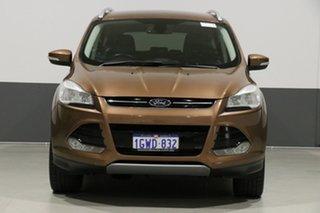 2013 Ford Kuga TF Trend (AWD) Orange 6 Speed Automatic Wagon.