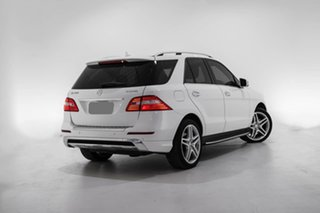 2015 Mercedes-Benz M-Class W166 MY805 ML350 BlueTEC 7G-Tronic + White 7 Speed Sports Automatic Wagon.