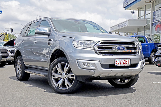 Used Ford Everest UA 2018.00MY Titanium, 2018 Ford Everest UA 2018.00MY Titanium Aluminium 6 Speed Sports Automatic Wagon