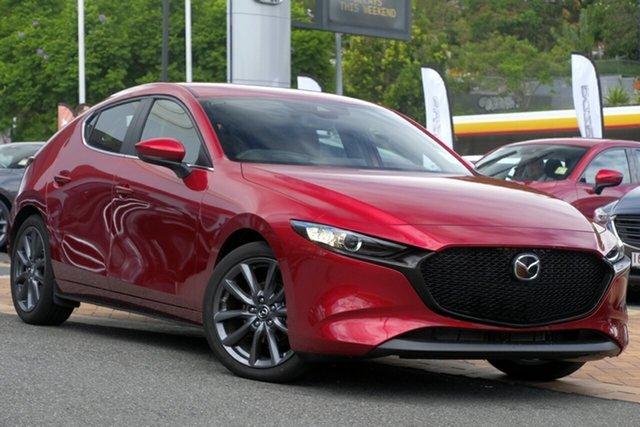 New Mazda 3 BP2HL6 G25 SKYACTIV-MT Evolve, 2019 Mazda 3 BP2HL6 G25 SKYACTIV-MT Evolve Soul Red Crystal 6 Speed Manual Hatchback