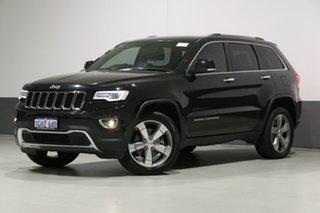 2017 Jeep Grand Cherokee WK MY17 Limited (4x4) Black 8 Speed Automatic Wagon.