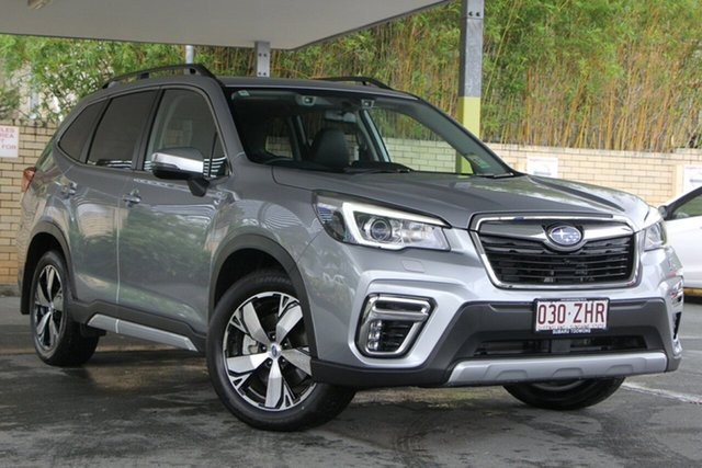 Demo Subaru Forester S5 MY20 2.5i-S CVT AWD, 2019 Subaru Forester S5 MY20 2.5i-S CVT AWD Ice Silver 7 Speed Constant Variable Wagon