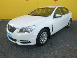 2016 Holden Commodore VF II MY16 Evoke White 6 Speed Sports Automatic Sedan