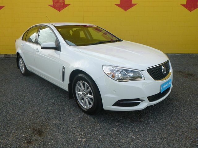 Used Holden Commodore VF II MY16 Evoke, 2016 Holden Commodore VF II MY16 Evoke White 6 Speed Sports Automatic Sedan