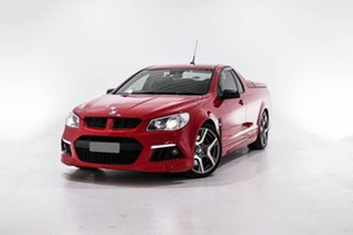 2014 Holden Special Vehicles Maloo Gen-F MY14 R8 Red 6 Speed Manual Utility.