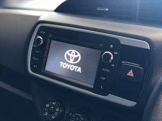 2015 Toyota Yaris NCP131R MY15 SX Blue 5 Speed Manual Hatchback