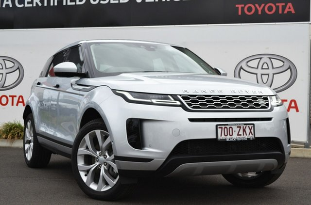Used Land Rover Range Rover Evoque L551 MY20.25 P200 SE (147kW), 2019 Land Rover Range Rover Evoque L551 MY20.25 P200 SE (147kW) Silver 9 Speed Automatic Wagon