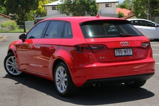 2015 Audi A3 8V MY15 Attraction Sportback S Tronic Red 7 Speed Sports Automatic Dual Clutch.