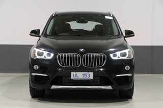 2018 BMW X1 F48 MY18 xDrive 25I Black 8 Speed Automatic Wagon.