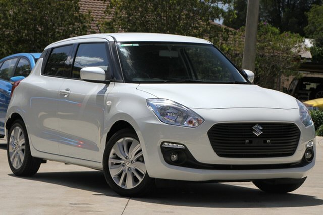Used Suzuki Swift AZ GL Navigator, 2018 Suzuki Swift AZ GL Navigator White 1 Speed Constant Variable Hatchback