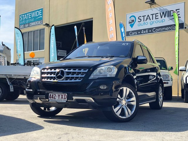 Used Mercedes-Benz ML350 W164 09 Upgrade 4x4, 2010 Mercedes-Benz ML350 W164 09 Upgrade 4x4 Black 7 Speed Automatic G-Tronic Wagon